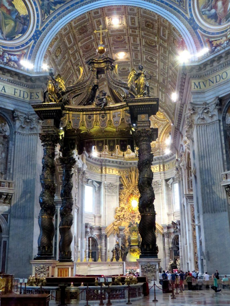 st peters basilica If you can't find your answer here, send an e-mail to: stpetersbasilica@gmail   for a list of english masses in rome see: the american community in rome.