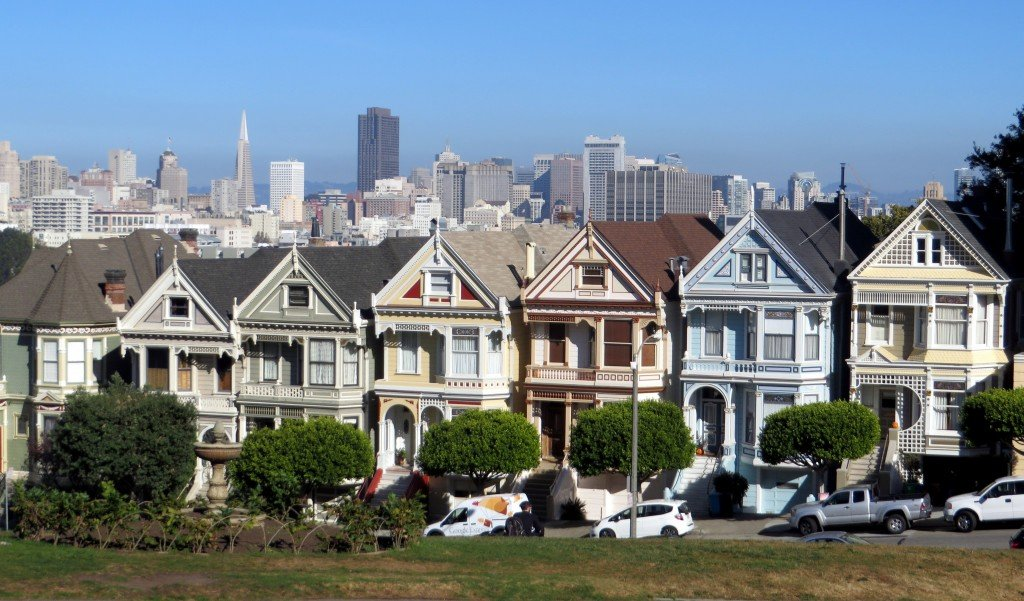 The Painted Ladies Of San Francisco Travel Tales Of Life
