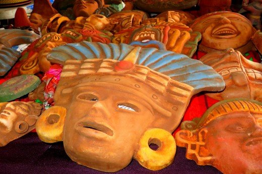 Mexican Clay Masks