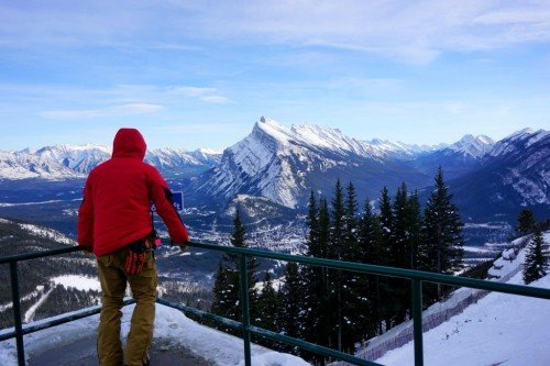 Sightseeing Banff