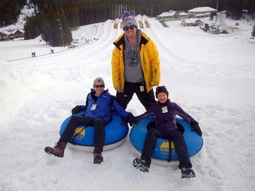 Tubing Mt Norquay Banff