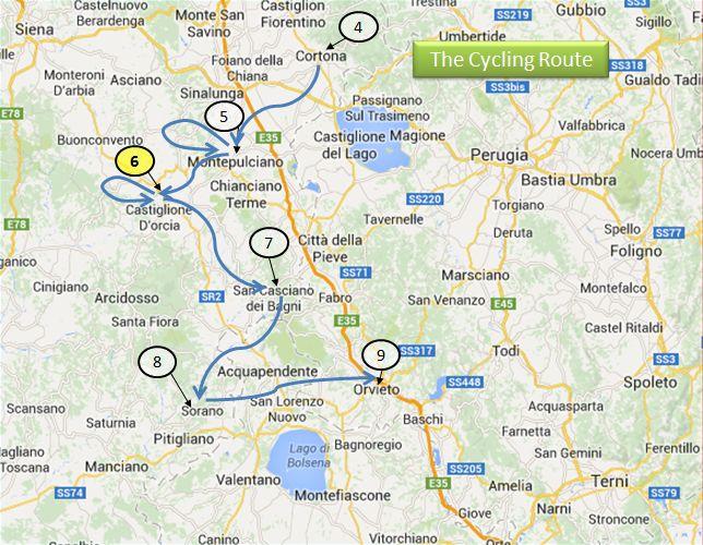 Bagno Vignoni : Scene of the Italian Electric Bike Crime - Travel ...