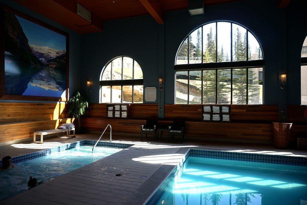 Hot Tub Fairmont Chateau Lake Louise Travel Tales Of Life