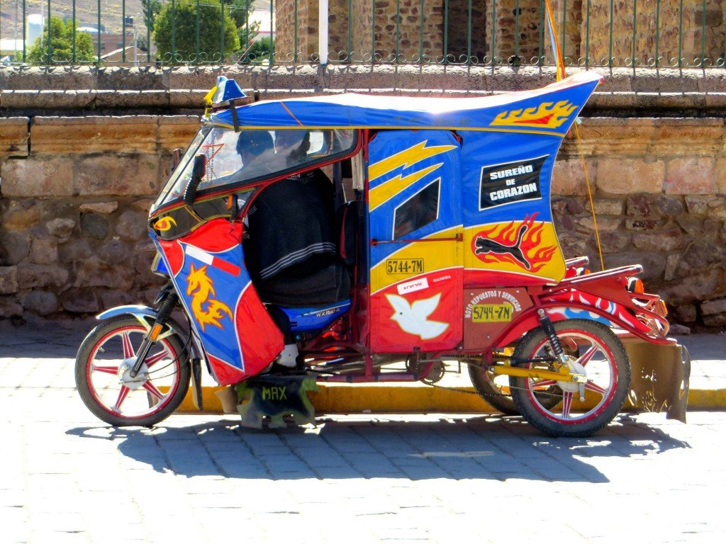 mototaxis of peru - bring your own seatbelt - travel tales of life