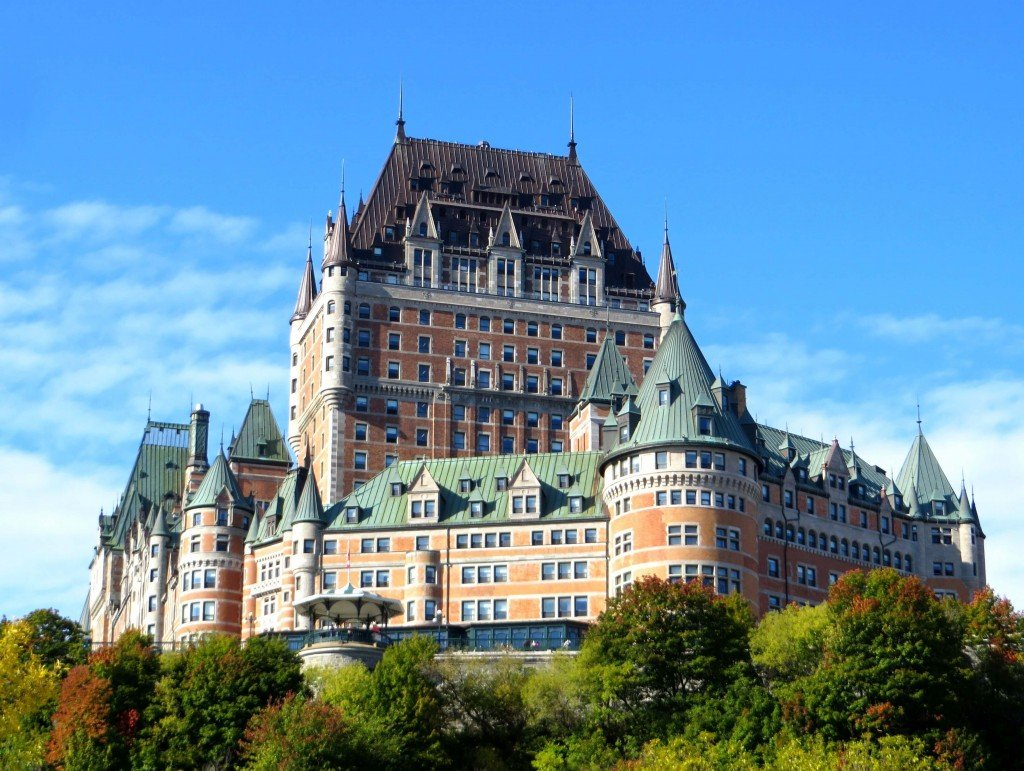 fairmont le chateau frontenac a princess and a castle in. Black Bedroom Furniture Sets. Home Design Ideas