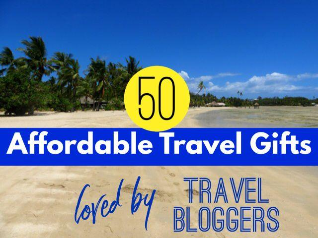 50 Affordable Travel Gifts Loved by Travel Bloggers