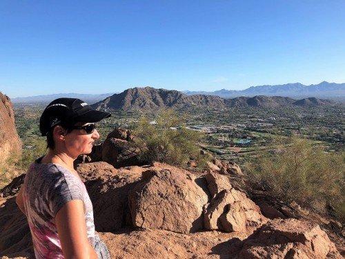 Camelback hike Arizona