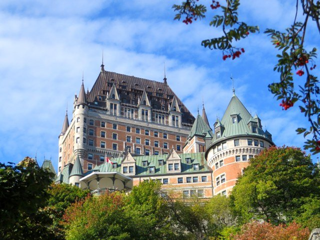 Chateau frontenac quebec city travel tales of life for Quebec city places to visit