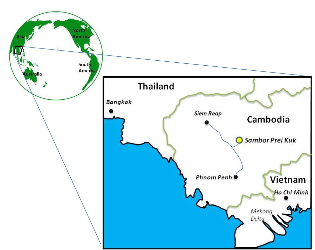 Sambor Prei Kuk Cambodia Where Trees Devour Temples Travel Tales